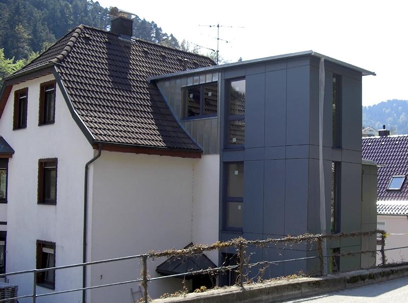 Treppenhaus Nach Außen Verlegen