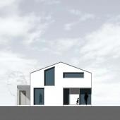 Haus E22 Ansicht W