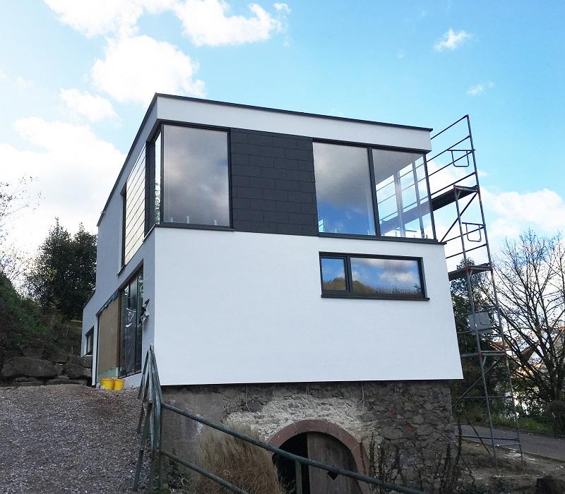 Haus B. in Hausach Fassade 02