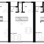 Grundriss Reihenhaus Erdgeschoss
