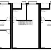 Grundriss Reihenhaus Untergeschoss