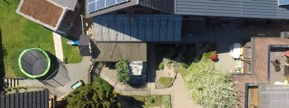 Drohnenflüge zur Begutachtung von Gebäuden